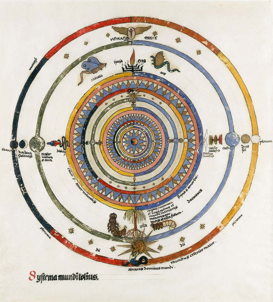 Jung's First Mandala -- from the Septem Sermones ad Mortuos