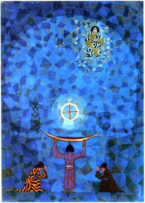 Jung's Painting Titled 'Septem Sermones'