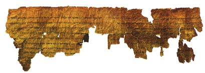 The Community Rule Scroll -- one of the seven original scrolls, attributed to an Essene community
