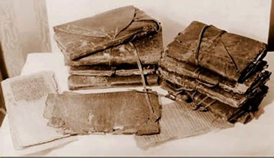 The leather-bound codices found at Nag Hammadi in 1945