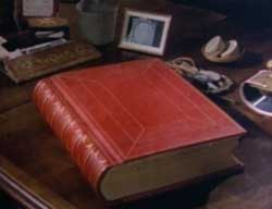 The Red Book on the desk of C.G. Jung