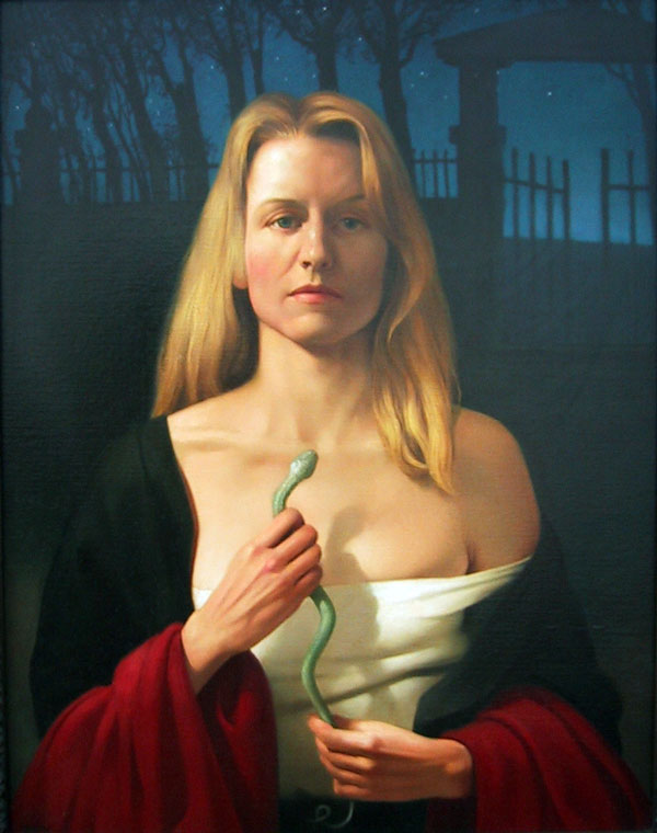 """Jacquelyn"" - Oil on canvas, Jan Saether, 1994"